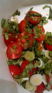 Tomaten und Kräuter ;-)